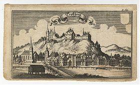 Trostberg - Ertl, Kupferstich - Wasserburger Antiquariat